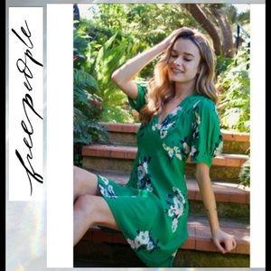 SALE 🔥FIRM PRICE🔥 NWT FP Neon Garden Mini Dress